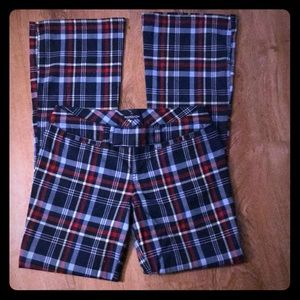 Abercrombie & Fitch plaid pants